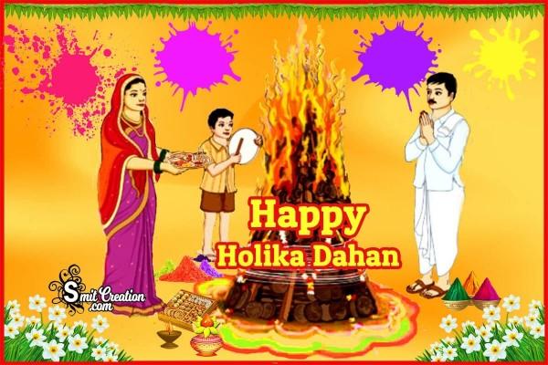 Happy Holika Dahan Card