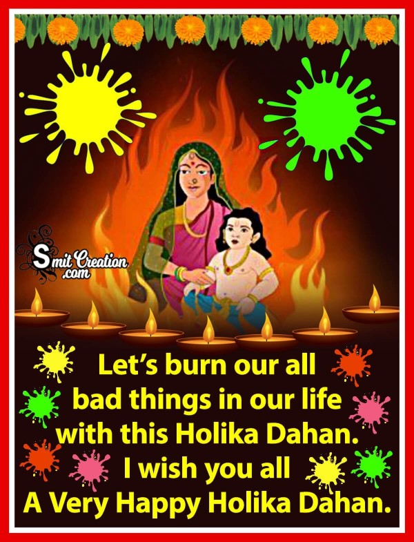 I Wish You All A Very Happy Holika Dahan