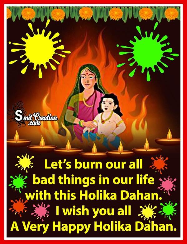 I Wish You All A Very Happy Holika Dahan