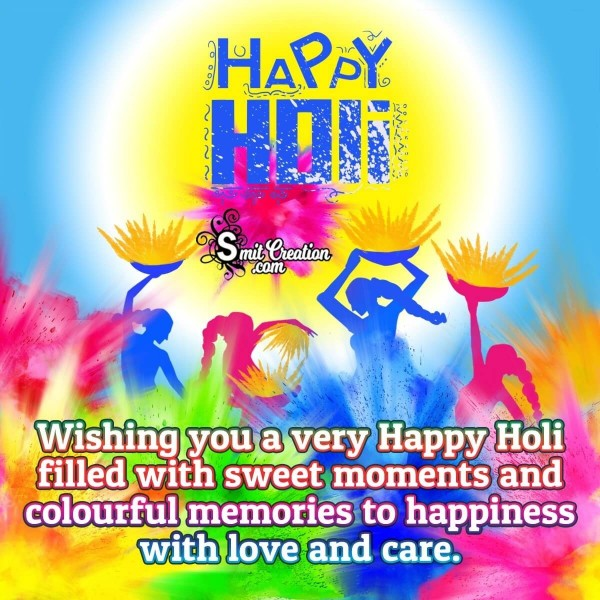 Happy Holi Wishes For You