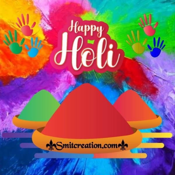 Happy Holi Colourful Pic