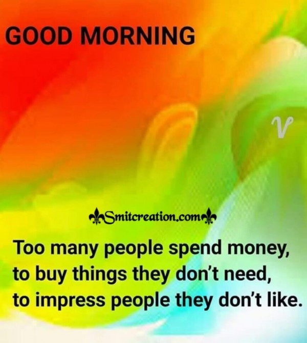 Good Morning Quote On People