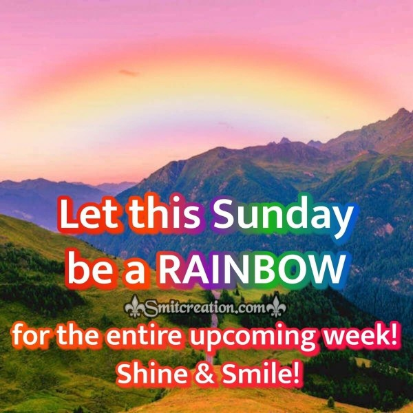 Let This Sunday Be A Rainbow