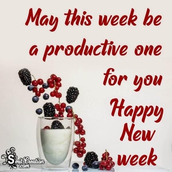 Happy Productive New Week