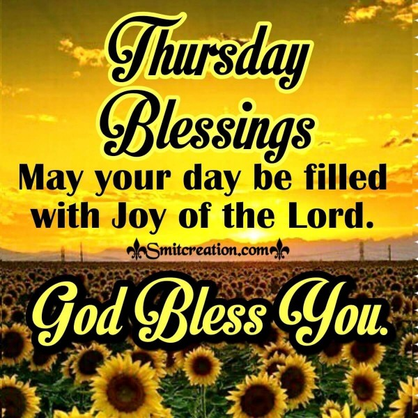 Thursday Blessings God Bless You