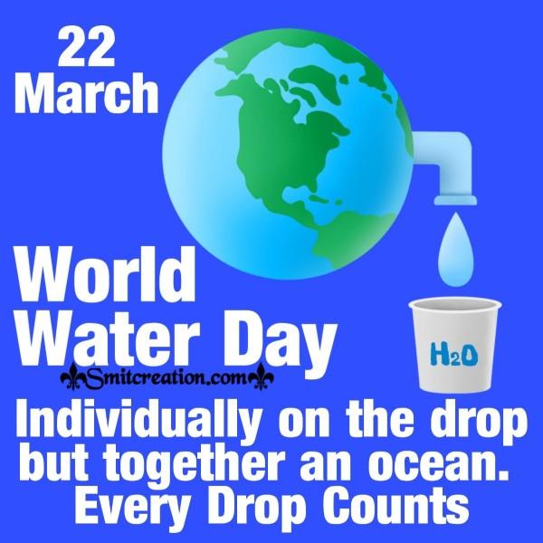 22 March World Water Day Slogan For Whatsapp