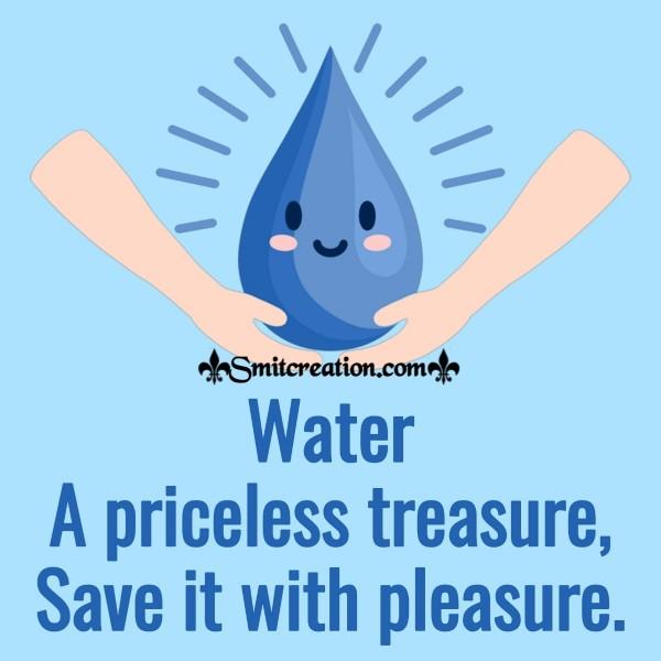 Water A Priceless Treasure