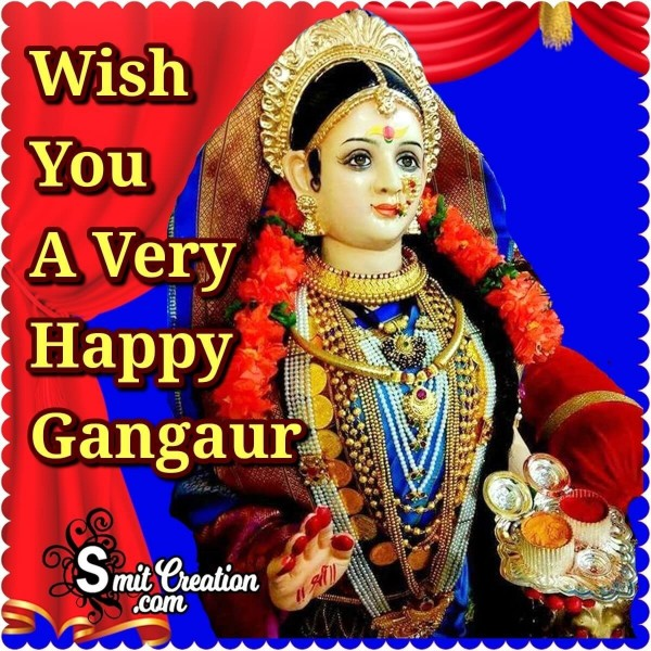 Wish You A Very Happy Gangaur