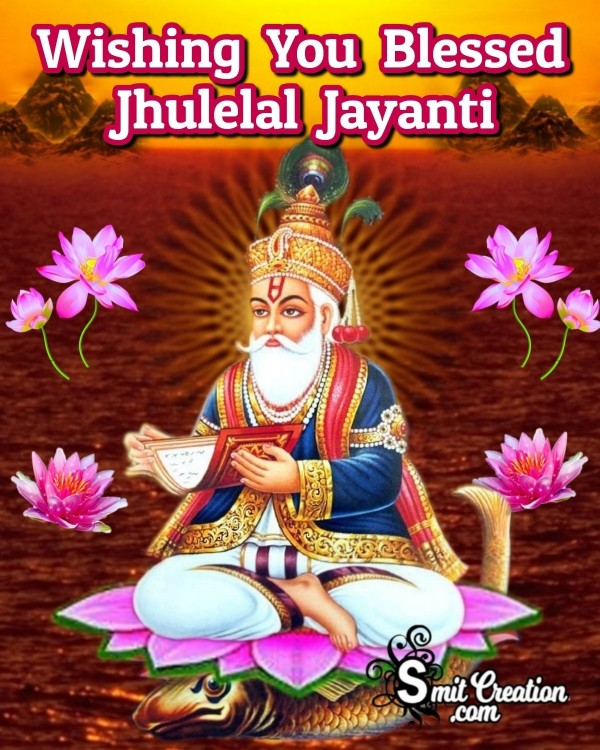 Wishing You Blessed Jhulelal Jayanti