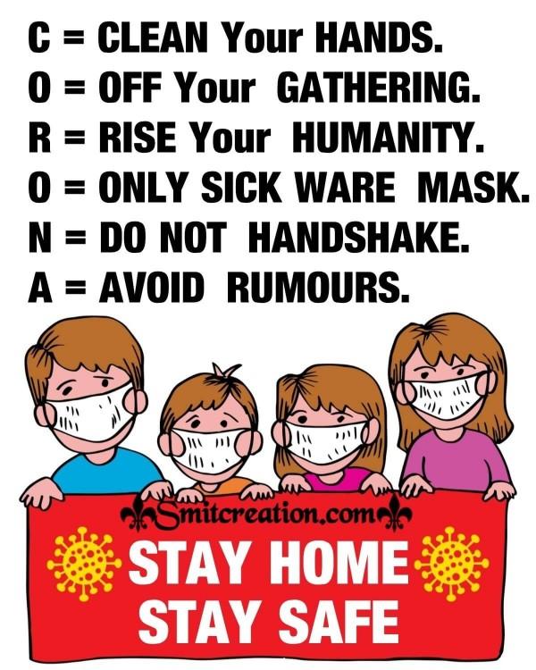 Coronavirus Prevention Quote