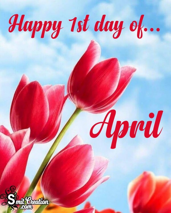Happy 1st Day Of April