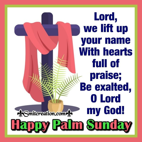 Happy Palm Sunday Card