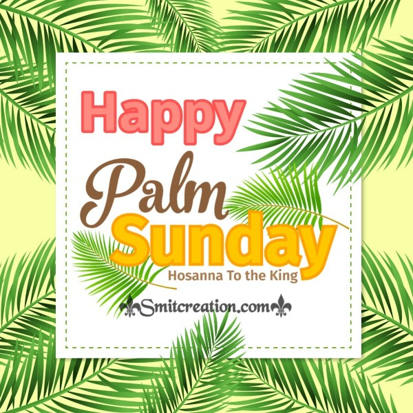Happy Palm Sunday Pic