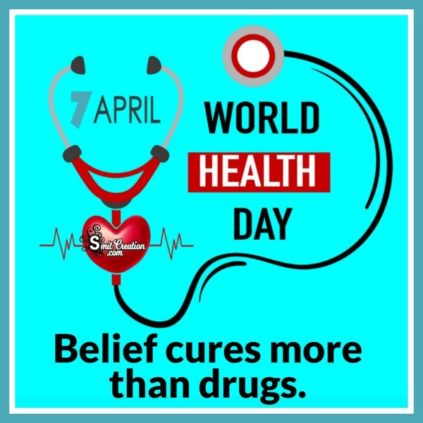7 April Happy World Health Day Quote