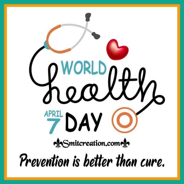 7 April Happy World Health Day Slogan