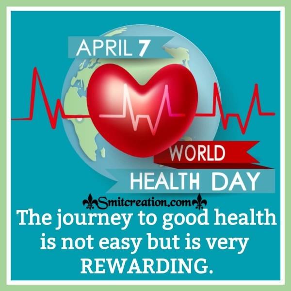 Happy World Health Day Quote