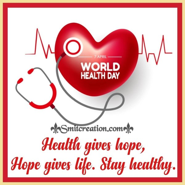 Happy World Health Day Blessings