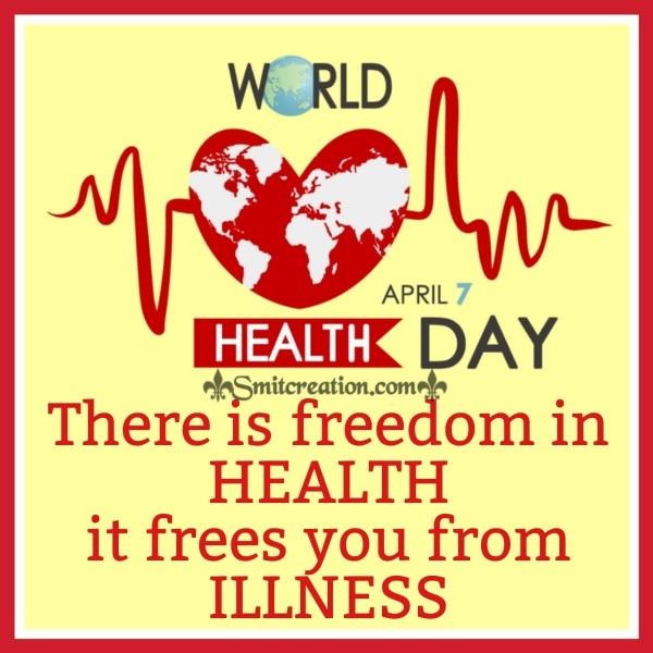 World Health Day Message