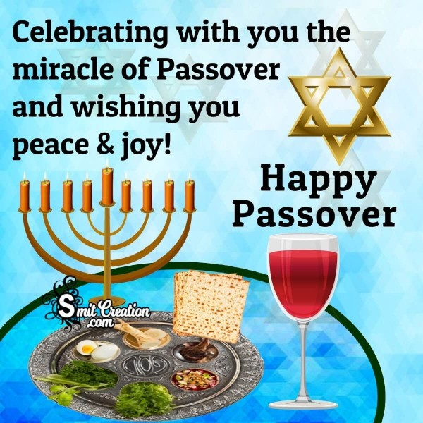 Wishing You Happy Passover