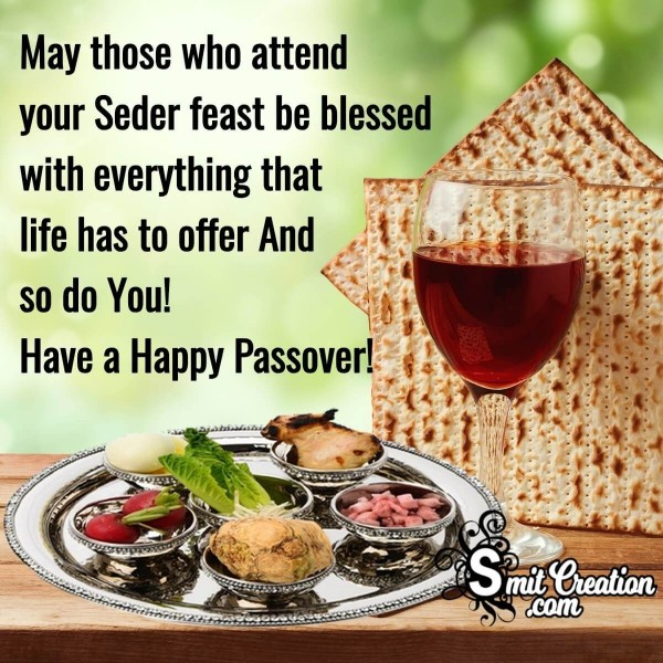Have A Happy Passover