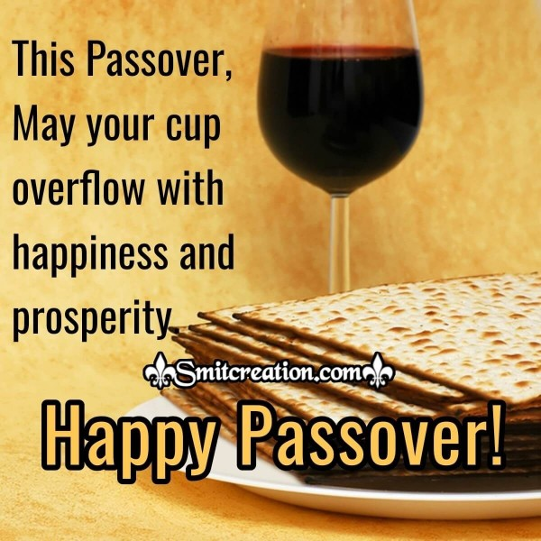 Happy Passover Wishes Card