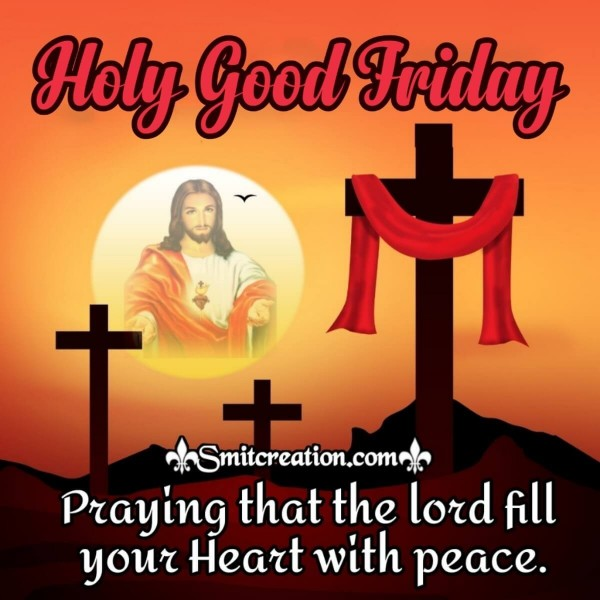 Holy Good Friday Prayer Card