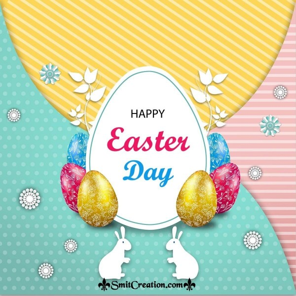 Happy Easter Graphic Card