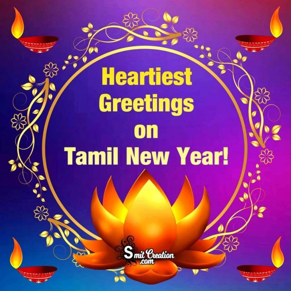 Heartiest Greetings On Tamil New Year