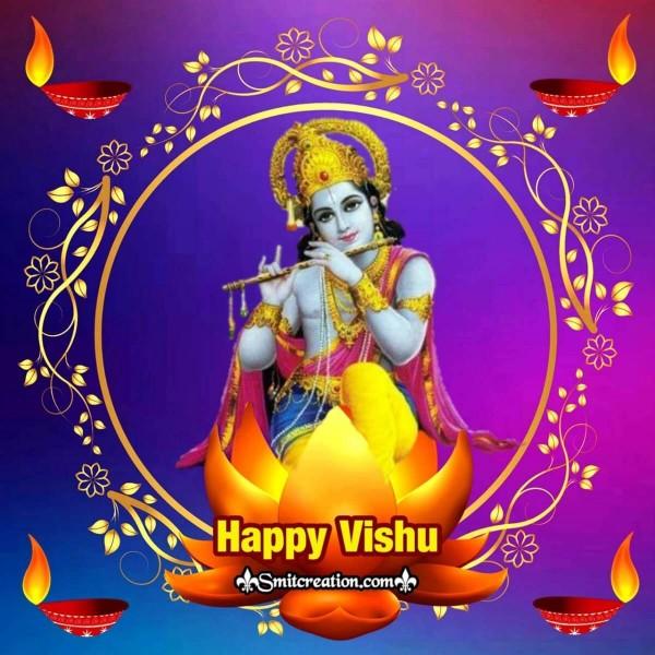 Happy Vishu Greeting Card