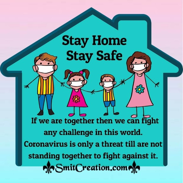 If We Are Together Then We Can Fight Coronavirus