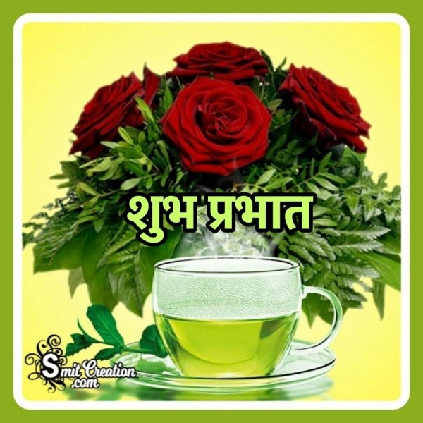 Shubh Prabhat Green Tea