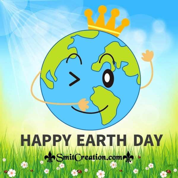 Happy Earth Day Crown Pic