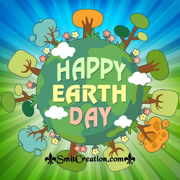 Happy Earth Day Save Forest Pic