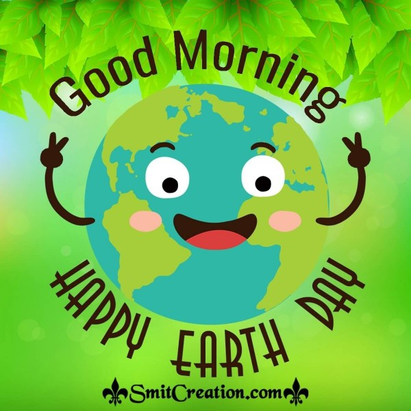 Good Morning Earth Day Card