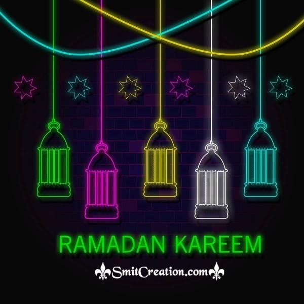 Ramadan Kareem Lanterns Image