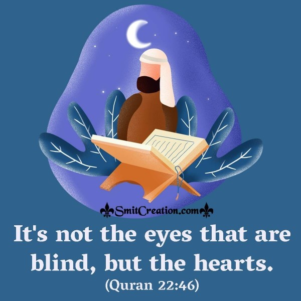 It's Not The Eyes That Are Blind, But The Hearts.