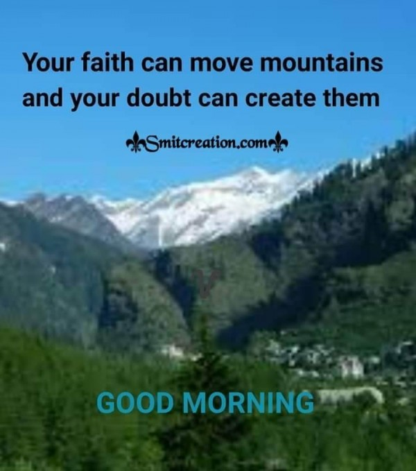 Good Morning Quote On Faith