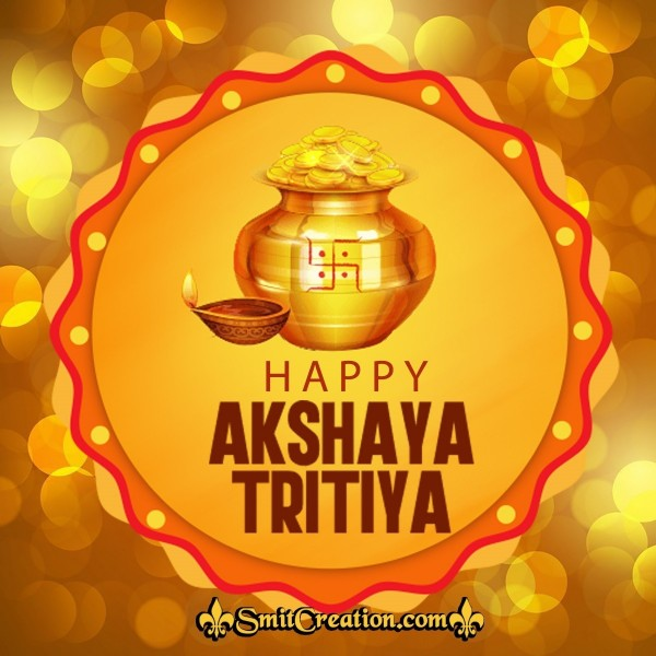 Happy Akshay Tritiya Card