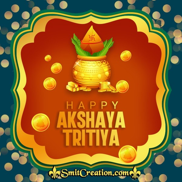 Happy Akshay Tritiya Greeting Card