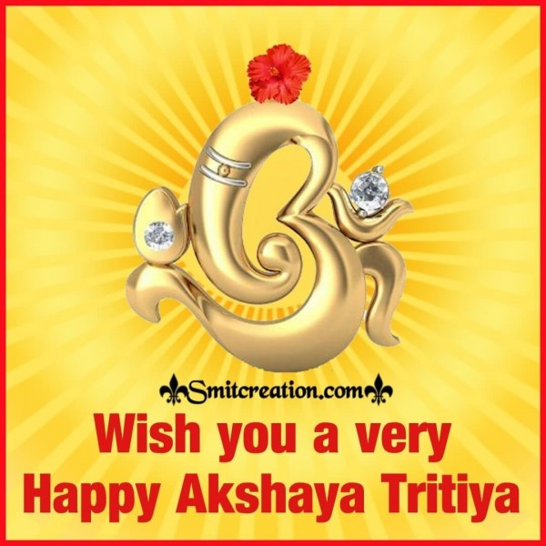 Wish You A Very Happy Akshay Tritiya