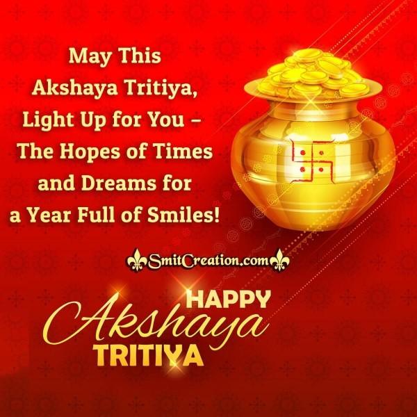 Happy Akshay Tritiya Wishes Card
