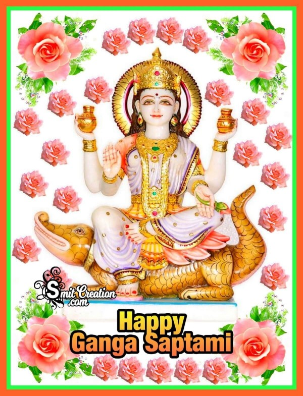 Happy Ganga Saptami Card