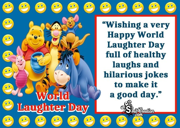 Wishing A Very Happy World Laughter Day