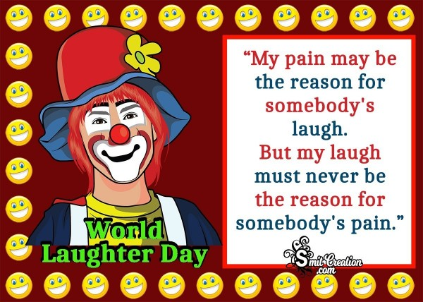 Laughter Day Quote Of Charlie Chaplin