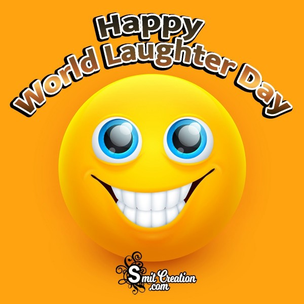 Happy World Laughter Day Best Card
