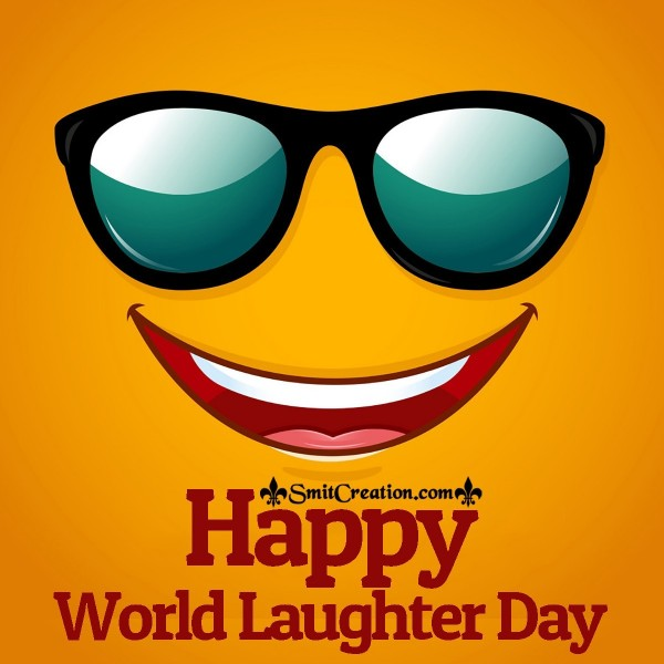 Happy World Laughter Day Card