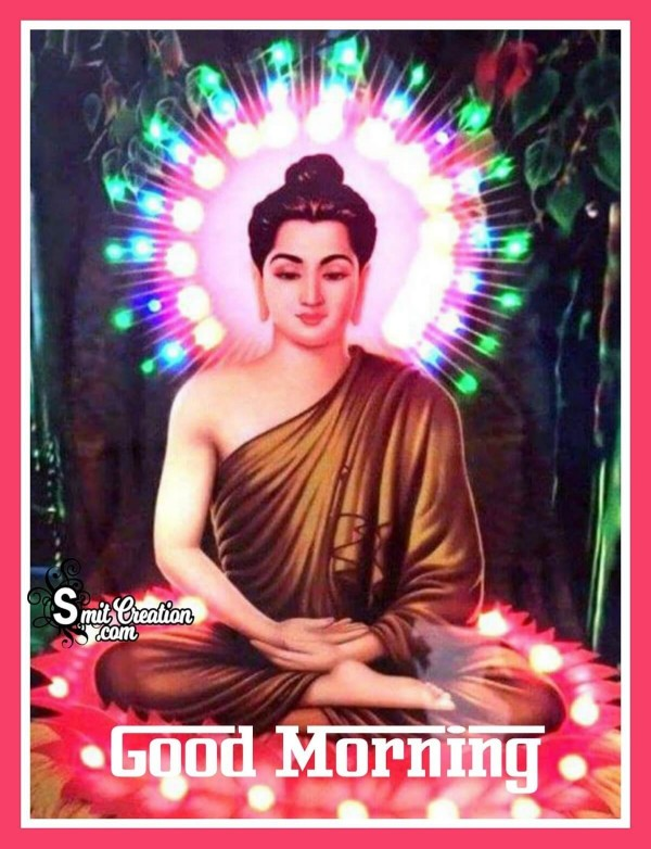 Good Morning Gautam Buddha Photo