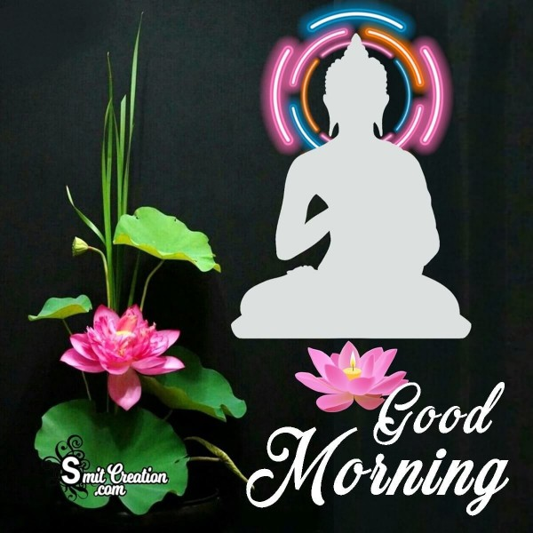 Good Morning Buddha Graphic Card