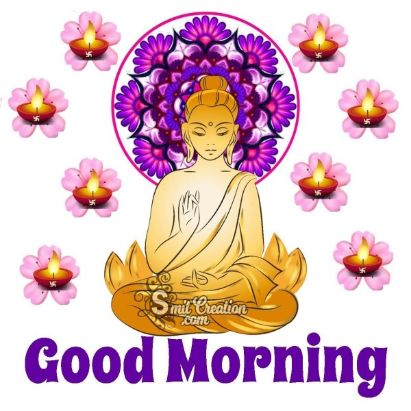 Good Morning Buddha Greeting Card