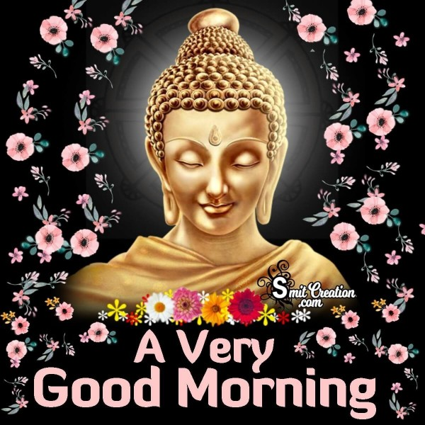 Good Morning Gautam Buddha Greeting